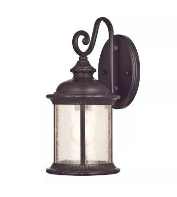Westinghouse 62306 New Haven One-Light Outdoor Wall Lantern, Oil Rubbed Bronze >