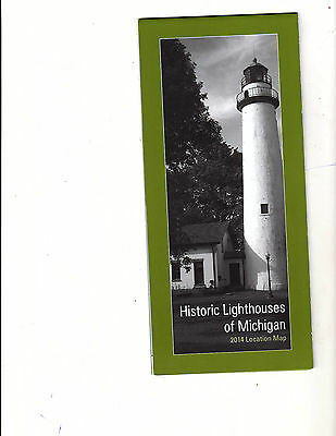 Historic Lighthouses of Michigan Map