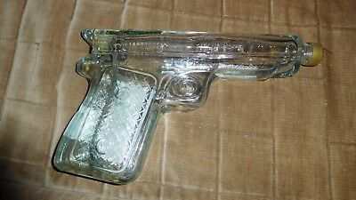 Unique Tequila Mexico Revolver/gun Shaped Bottle Empty Collector Item Ships Free