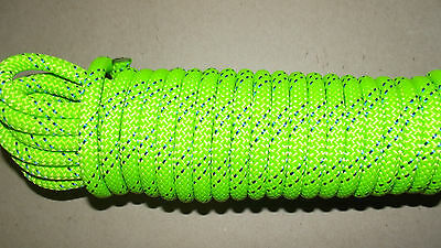 """NEW 7/16"""" (11mm) x 50' Kernmantle Static Line, Climbing Rope"""