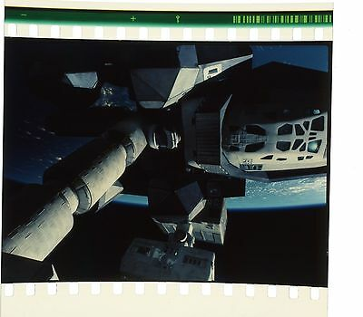 Interstellar 70mm IMAX Film Cell - Earth from space station (1361)