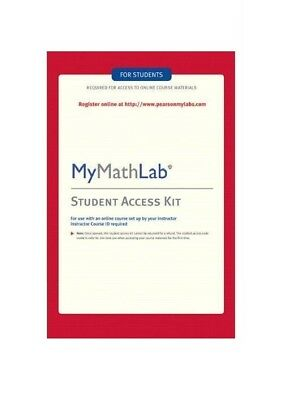 MyMathLab Access Code Instant Delivery