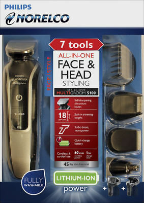 Philips Norelco Multigroom 5100 Beard Stubble Shaver Trimmer & Hair Clipper