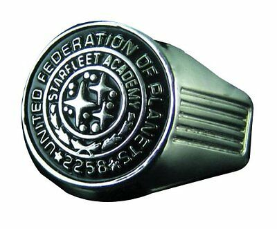 Officially Licensed Star Trek Academy Class Ring Replica Size 10