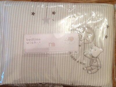 Mothercare Bedtime Wish Long Cot Bumper Also For A Cot Bed ** Bnip **