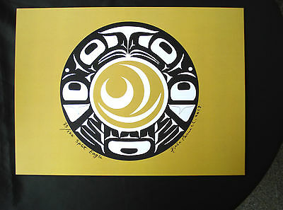 Native Art Haida Split Eagle Ltd Edition  Print Signed