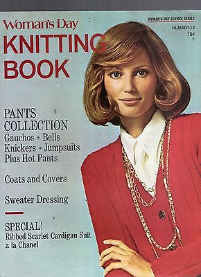 1971 Woman's Day Knitting Book Magazine-Number 13-Gauchos-Hot Pants-Jumpsuits