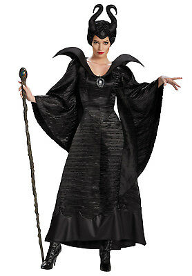 Maleficent Fancy Dress Costume Deluxe Evil Queen Costume Wicked Queen Costume