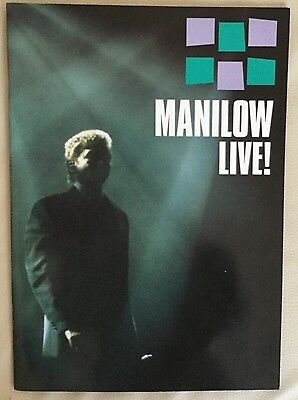 BARRY MANILOW Live Programme 1999.