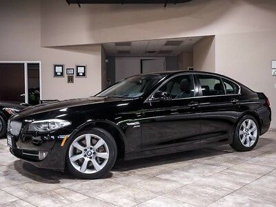 2011 BMW 5-Series Base Sedan 4-Door 2011 BMW 550i xDrive Sedan Black Premium 2 Convenience & Cold Weather Pkg LOADED
