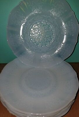 Vintage Monax American Sweetheart Macbeth Evans depression glass saucer