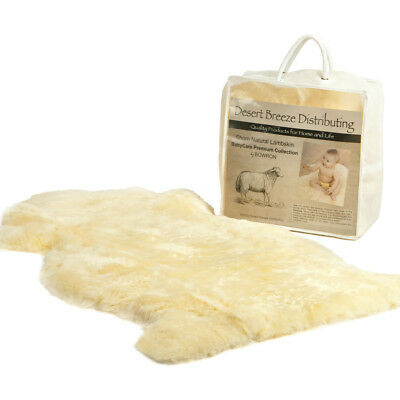Bowron New Zealand Lambskin for Baby - 100% Natural and Luxuriously Soft Shorn W