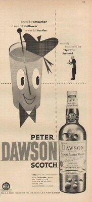 1951 Peter Dawson Scotch Whisky~Whiskey ad