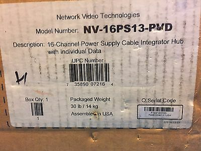 NVT NV-16PS13-PVD 16 channel UTP Power Supply Passive Receiver Hub NEW