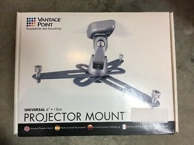Vantage Point CGUPM06-S Universal Front Projector Mount - Silver