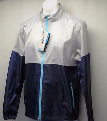 New Mens LARGE Sun Mountain Cirrus Water proof lightweight golf jacket