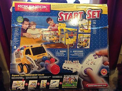 Nib  Rare Rokenbok Start Set Radio Control & Construction System Toy Educational