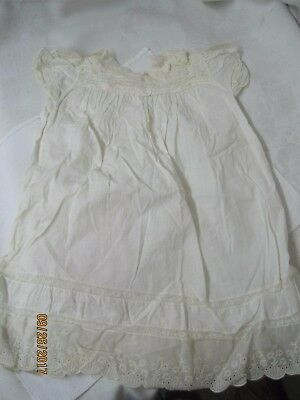 Antique Child's Nightgown with Lace