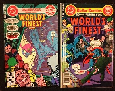 Lot of old DC Worlds Finest Comics