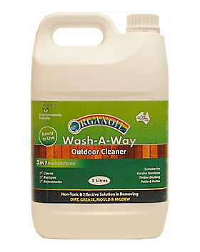 Wash-A-Way - Organoil Cleaning and Maintenance Painting Supplies Zero VOC