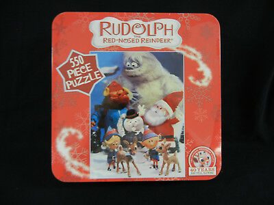 Rudolph Puzzle : TV Classic Characters : Yukon, Bumble, Sam & more : Sealed Tin