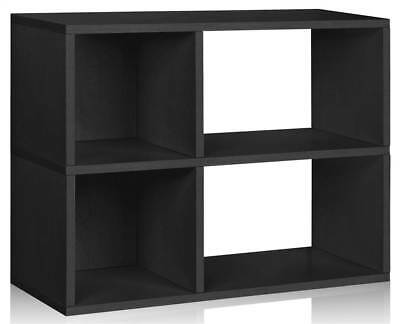 Eco Friendly Chelsea Bookcase in Black [ID 1653734]