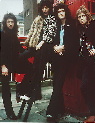 Queen 8 X 10 Photo With Ultra Pro Toploader