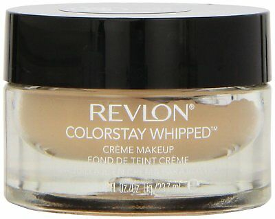 REVLON Colorstay Whipped: Creme Makeup: 24 Hr Wear: Choose Ivory or Natural Tan