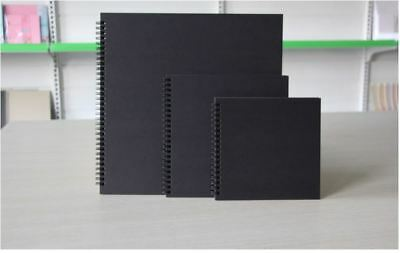 Hard Cover KRAFT Double Spiral Journal / Scrapbook Album / Sketch Book / Drawing