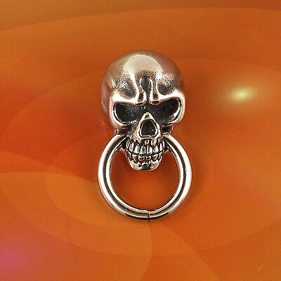 Skull Wallet Chain Connector, Chicago Screw, Free Shipping