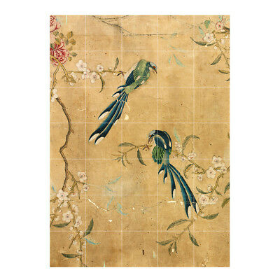 NEW IXXI chinese wallpaper no 5 gold wall art by Until