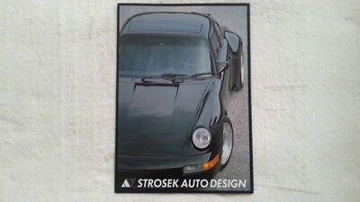 32A 124 STROSEK 911 Turbo Carrera 928 944 Porsche Prospekt Brochure deutsch