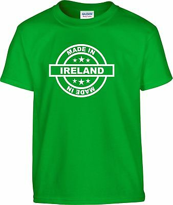 Ireland Made In T-Shirt All Sizes