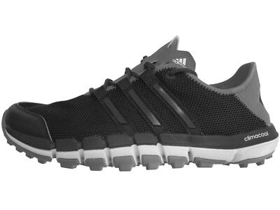 Adidas Climacool ST Golf Shoes - Core Black/Dark Silver Met