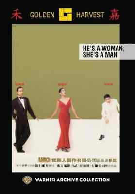 He's a Woman, She's a Man NEW DVD