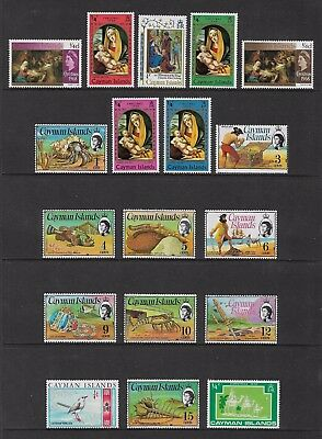 CAYMAN ISLANDS - mixed collection No.2, mint