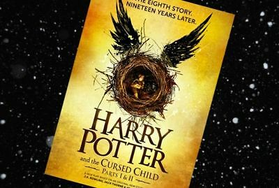 Harry Potter: Harry Potter and the Cursed Child Parts One and Two AUDIO BOOK
