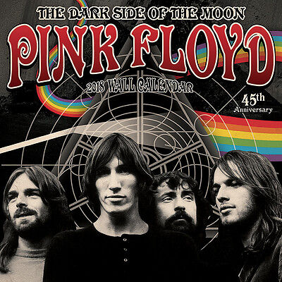 Pink Floyd - Official 2018 Calendar - The Dark Side of the Moon 45th Anniversary