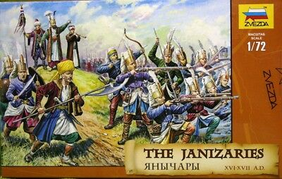 Zvezda The Janizaries (XVI-XVII A.D.) - Scala 1:72 - 8050