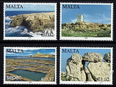 Malta 2009 Scenery Complete Set SG1631 - 1634 Unmounted Mint
