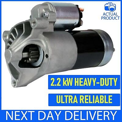 Fits Peugeot 206 1.9D/2.0Hdi 1998-2010 New Starter Motor