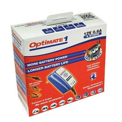 Chargeur batteerie moto Optimate 1 global TM-400 12v 0.6A livraison express
