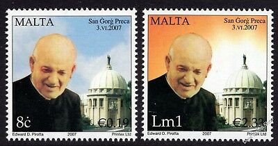 Malta 2007 Canonization of Dun Gorg Preca Complete Set SG1543 - 4 Unmounted Mint