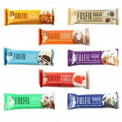 FULFIL NUTRITION VITAMIN PROTEIN BAR 55g - LOW IN SUGAR, LOWEST PRICES FITNESS