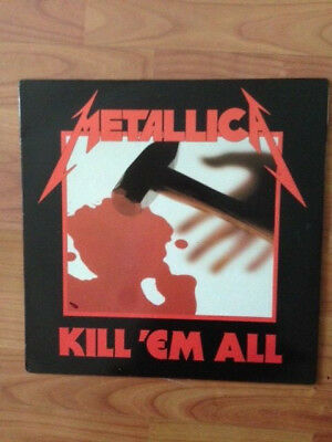 Metallica ‎– Kill 'Em All(UK/France,1983)