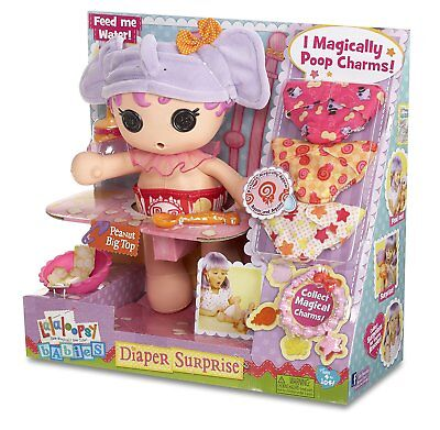 Babies Diaper Surprise Peanut Big Top Doll With Reusable Diapers by Lalaloopsy