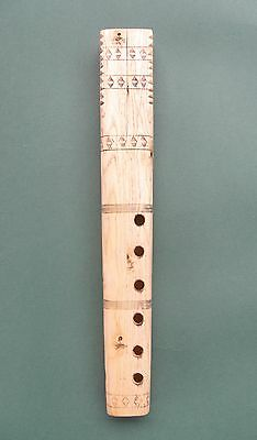 Traditional Macedonian Double Shepherd's flute