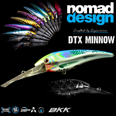 Nomad Design Revolutionary Trolling Lure Dtx Minnow