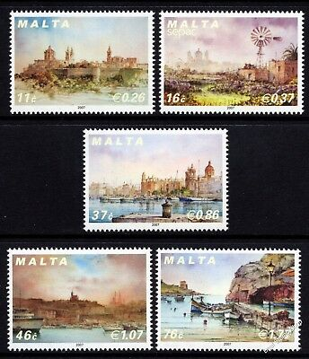 Malta 2007 Scenery Complete Set SG1563 - 1567 Unmounted Mint