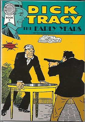 Dick Tracy The Early Years Book 3 #3 (Vf/nm) Blackthorne